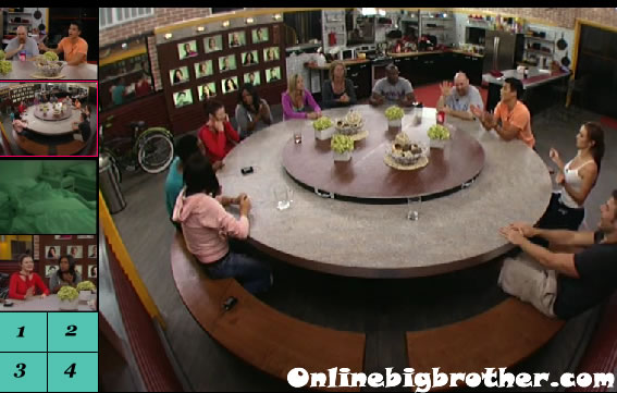 kitchen table Big Brother 13