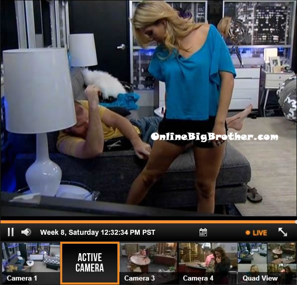 Aaryn tells Andy he can tell Helen that she taught us to vote with the