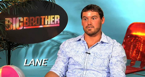 Lane Elenburg Big Brother 12