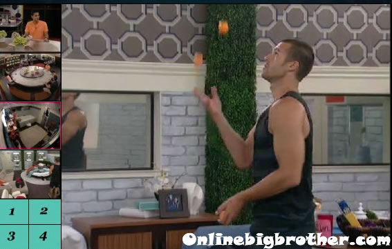 brendon juggling Big Brother 13