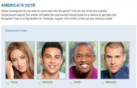 Big Brother 13 America's vote