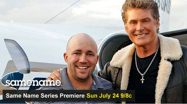David Hasselhoff Appearance on Big Brother Season 13 for show SameName