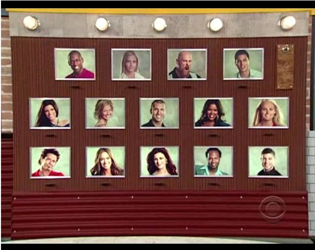Big Brother 13 Memory Wall