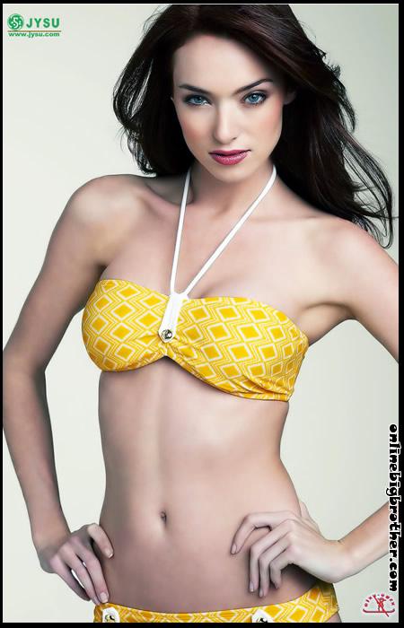 90d6a1c702 Big Brother Alumni Cassi Colvin Bikini and Lingerie Modelling Pics
