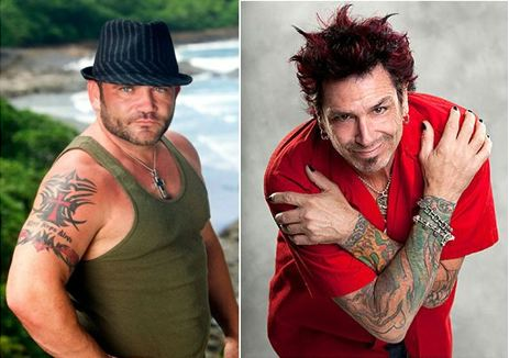 Dick Donato and Russell Hantz