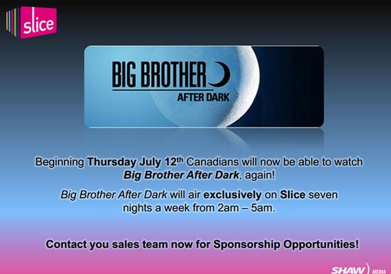 Big Brother After Dark Canada