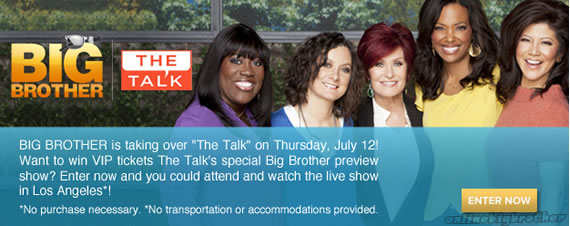 The Talk' Big Brother 14 Preview Show Airs July 12 Big