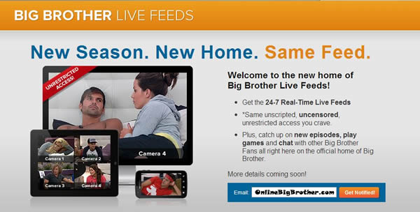 Sign-up for the BB15 Live Feeds right HERE on OBB!