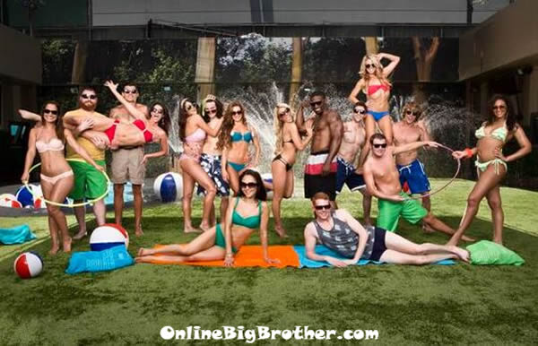 Big Brother 15 Backyard Photo Shoot Video Of The Bb15 Cast on Big Brother House Floor Plan