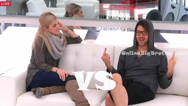 Big brother canada 4 raul and Kelsey hoh eviction april 14 2016