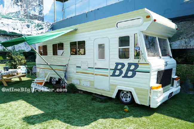 The Big Brother RV in the CBS series BIG BROTHER, scheduled to air on the CBS Television Network.   Photo: Bill Inoshita/CBS �©2016 CBS Broadcasting, Inc. All Rights Reserved