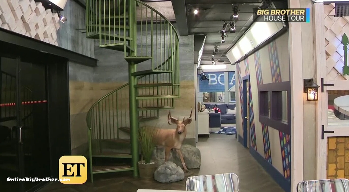 Big Brother 21 Stairs to the HOH