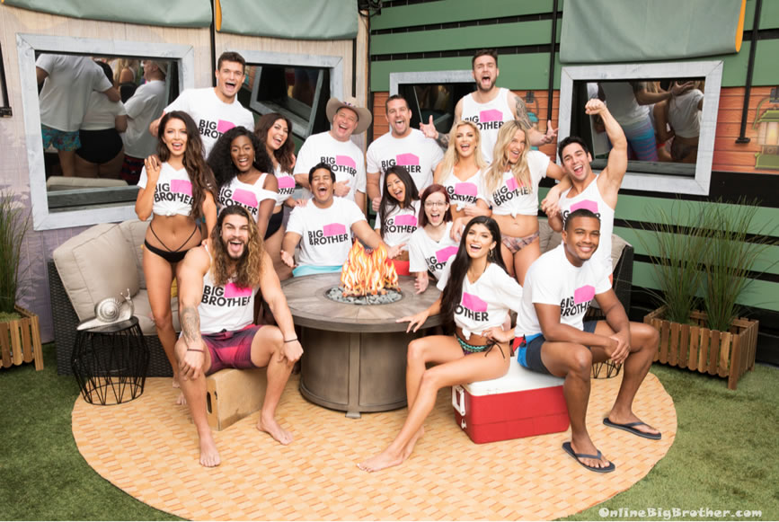 Big Brother 21 Swimsuit Group Picture
