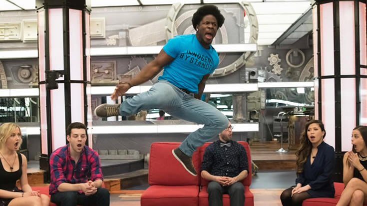 Big Brother Canada 3 Godfrey Jump
